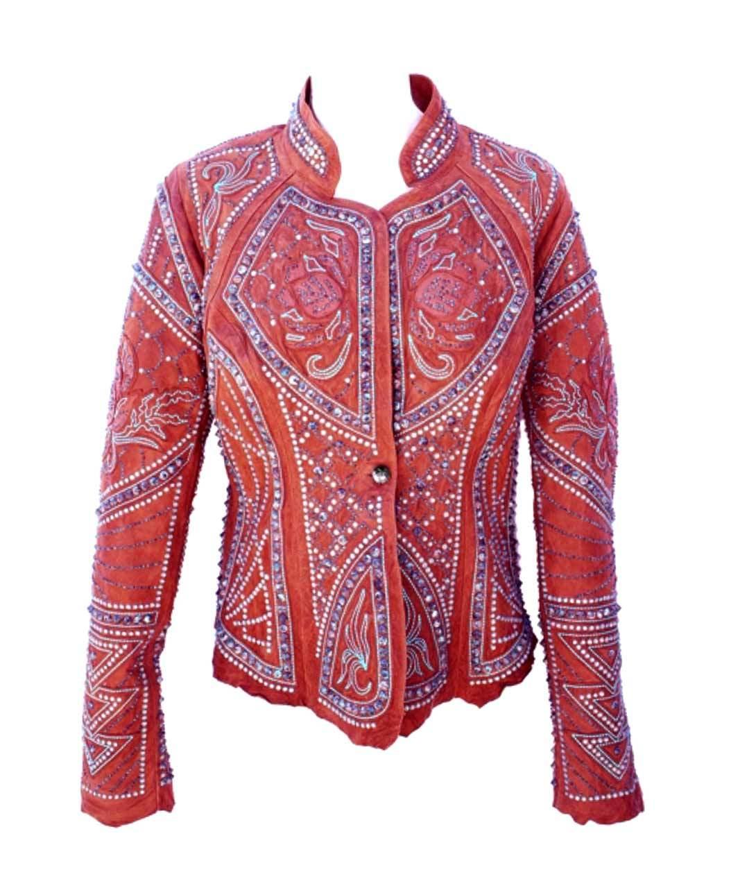 Kippys Ceremonial Skin Cognac Borello Leather Jacket