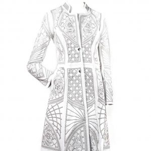 Kippys Pearl Elements Ceremonial Coat White