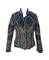 Kippys Embellished Vembrement Leather Jacket