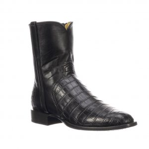 Lucchese Men's Dress Boot: Elliot, Black