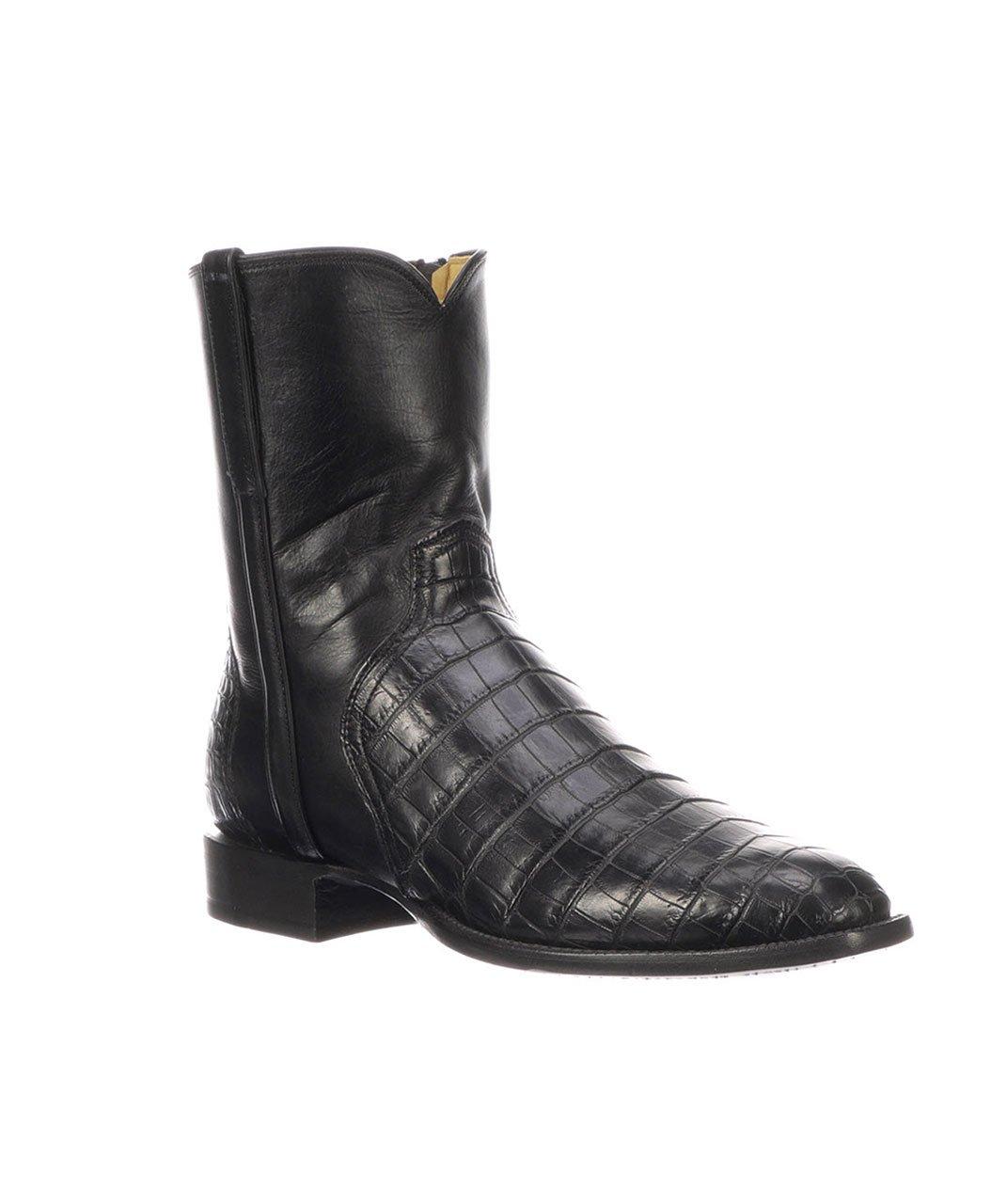 Lucchese Men's Dress Boot: Elliot, Black