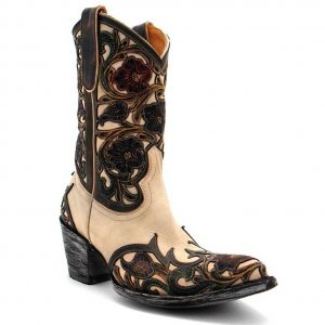 Old Gringo - Abelina Boot Floral, Bone