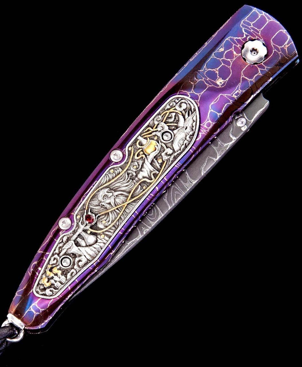 William Henry Lancet Alchemist Pocket Knife One-of-a-Kind