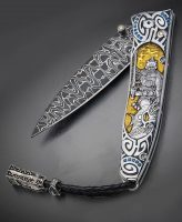 Wiliam Henry Genetic Silver Warrior Luxury Pocket Knife