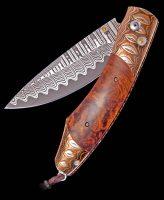 William Henry Spearpoint High Desert Ironwood Pocket Knife