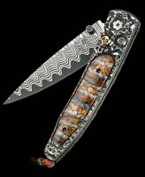 William Henry Lancet Noggin Woolly Mammoth Pocket Knife