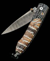 William Henry Lancet Venture Mammoth Inlay Pocket Knife