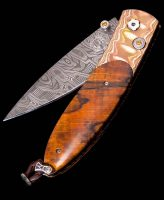 William Henry Monarch Autumn Mokume Gane Pocket Knife