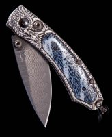 William Henry Kestrel Silver Lair With Fossil Coral
