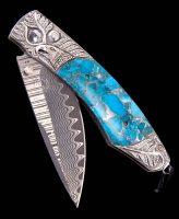 William Henry Spearpoint Soar Engraved Eagle Pocket Knife