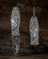 William Henry Morpheus Yorick Knife/Pendant/Keychain